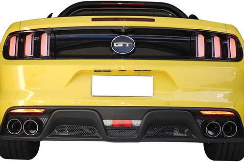 BACK BUMPER DOUBLE DIFFUSOR