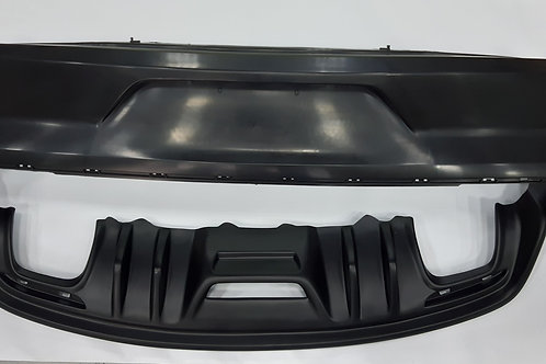 BACK BUMPER WITH DIFFUSOR