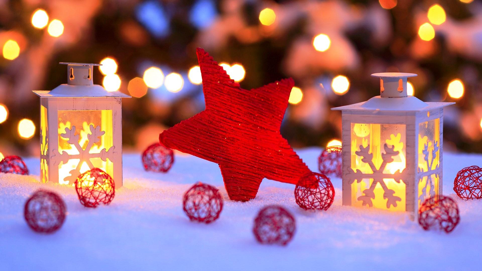 Картинки зима и новый год на рабочий стол на весь экран