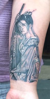 geisha tattoo