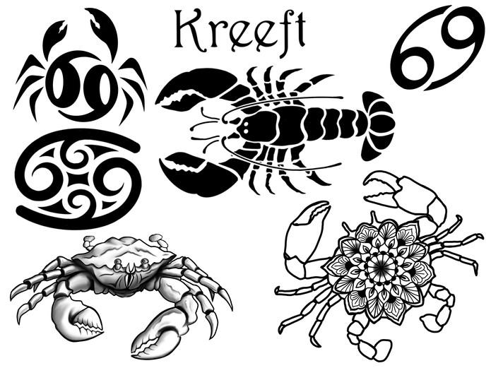 Horoscoop tattoo kreeft