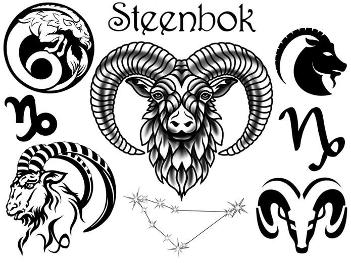 Horoscoop tattoo steenbok