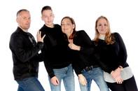 Studio fotoshoot gezin