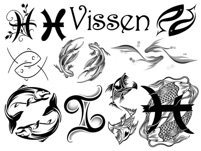 Horoscoop tattoo vissen