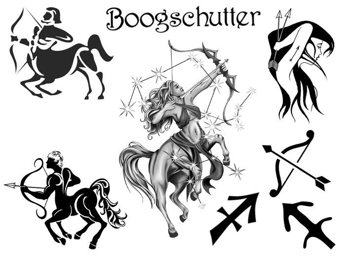 Horoscoop tattoo boogschutter