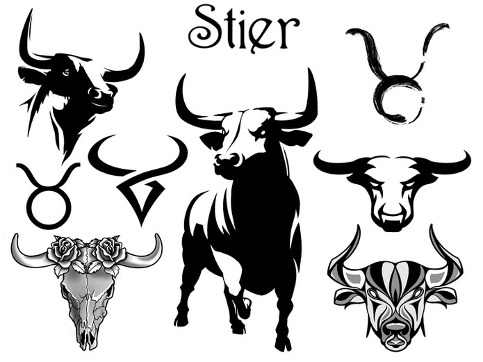 Horoscoop tattoo stier