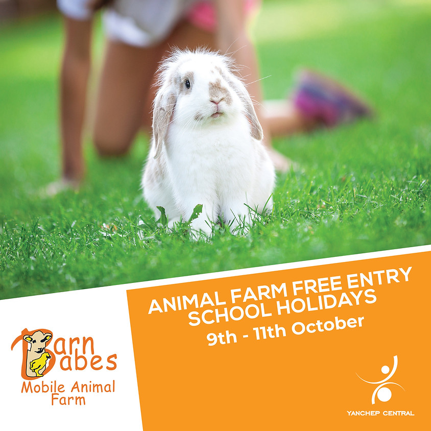 Barn Babes Mobile Animal Farm - Free Entry!