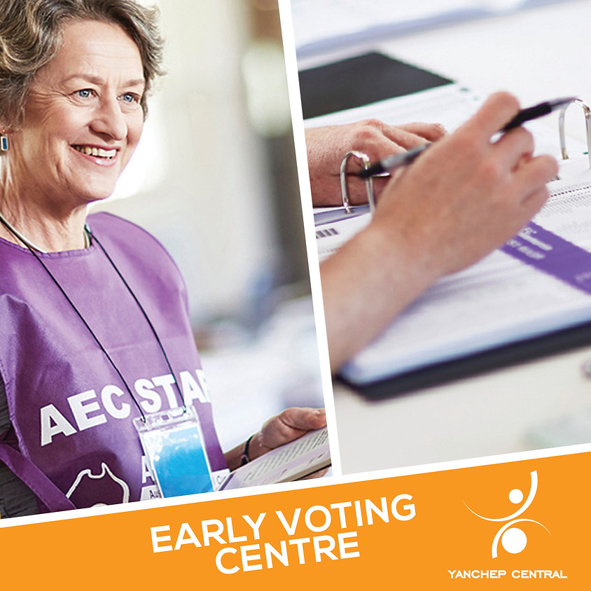 AEC Early Voting Centre ✉️✔️