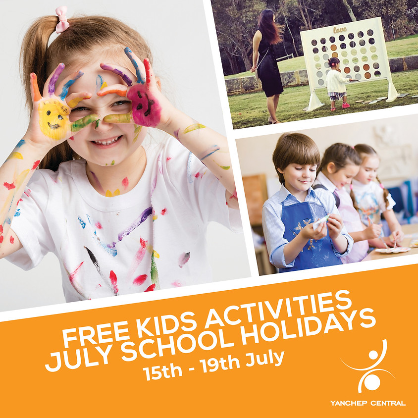 Free Kids Activities - July School Holidays at Yanchep Central