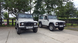 Land Rover Defenders
