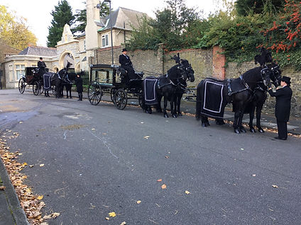White Horse Farm Funeral Carriages