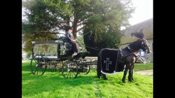 Black Hearse Carriage