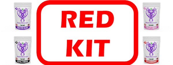 KIT RED 44 BUSTINE da 1g e 2g