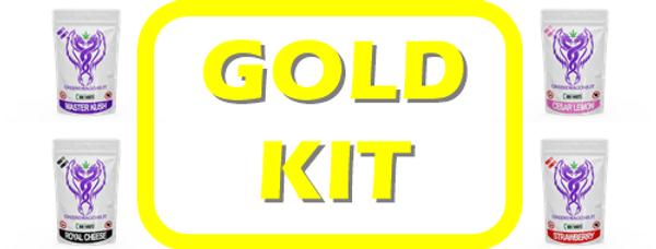 KIT GOLD 120 BUSTINE da 1g  2g 3g e 5g
