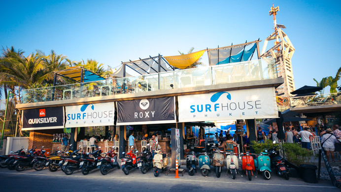 Surf House Kata Beach