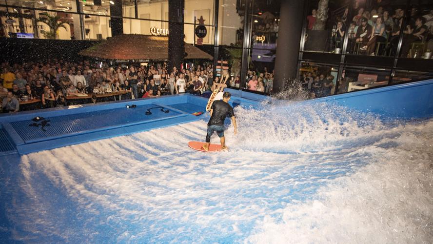 Flowrider at Surf House Helsinki