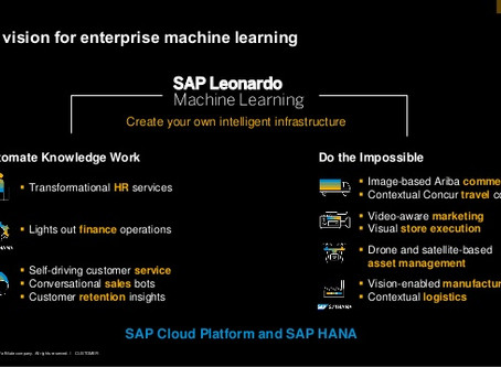 SAP Leonardo Machine Learning
