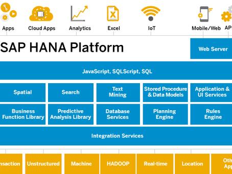 ¿Qué es SAP HANA?