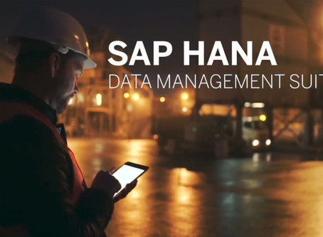 Explore SAP HANA Data Management Suite