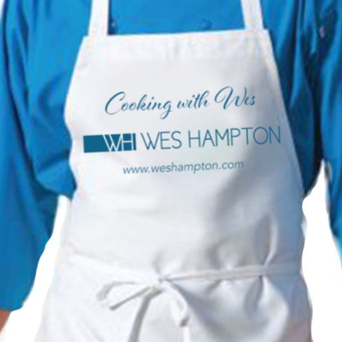 """Cooking with Wes"" Apron"