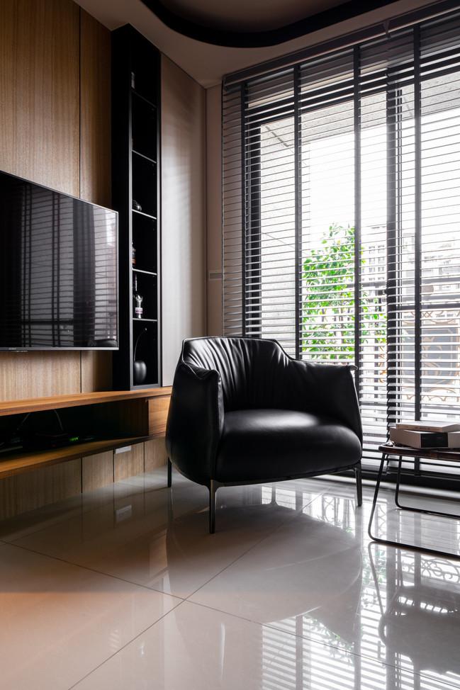 向室制作-室內設計-新成屋裝修-台北市-單身精品宅-人文風-實木皮-飯店風-實木