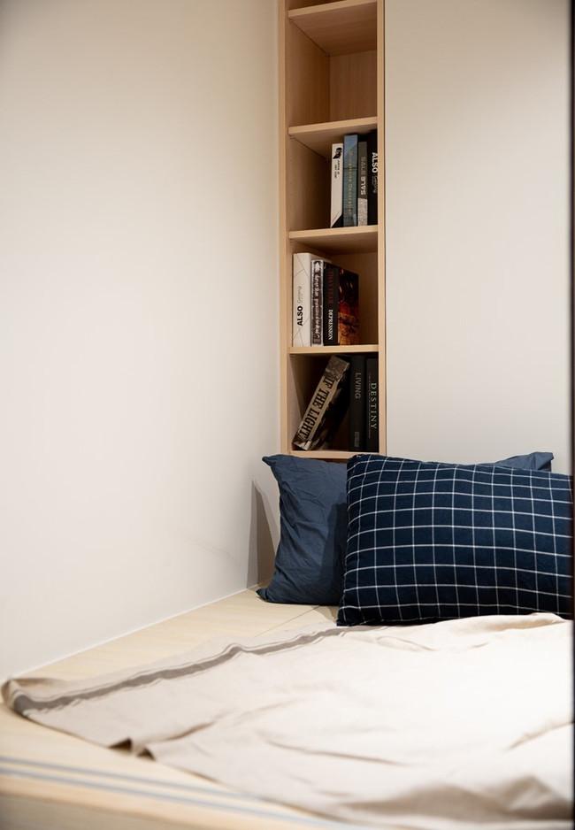 向室制作-室內設計-中古屋裝修-台北市-單身精品宅-北歐-百葉窗-乾濕分離浴室-