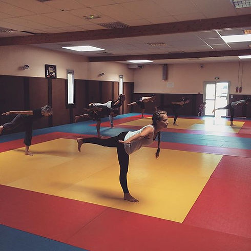 Ginastica Natural class today! Good ener