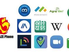 IP無線など国内外で利用可能なアプリ数が30個に。ZoomとLINEも公式サイト経由で利用可能。