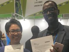 TICAD開催中にルワンダの通信会社とMoU締結