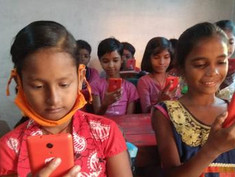 インド教育系NGO7団体とアメグミが提携、スマホをオンライン教育ツールとしてPoC開始