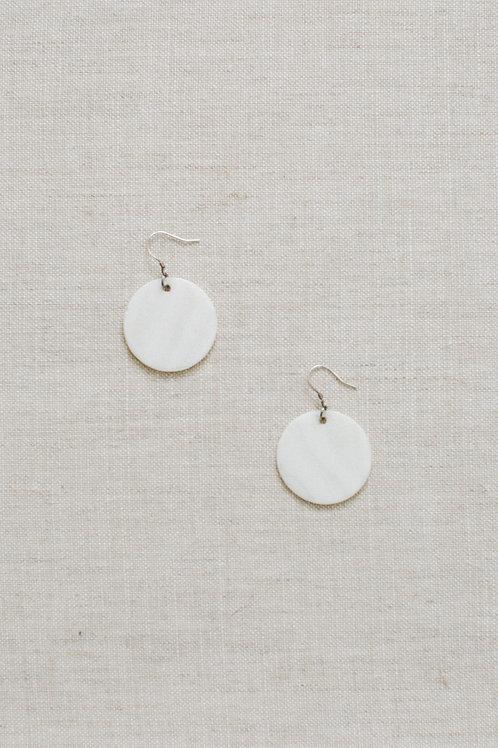 BRIDAL EARRINGS -White Shell