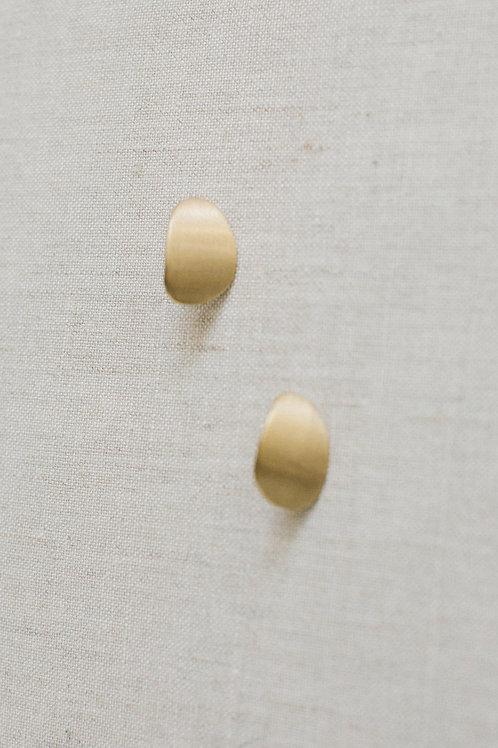 BRIDAL EARRINGS -Golden Slice