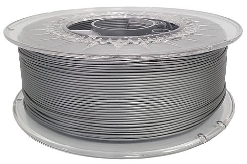 Silver PLA EverfilTM,  1.75mm, 1kg