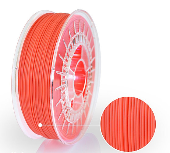 Neon Orange PLA Starter, 1.75mm, 0.8kg