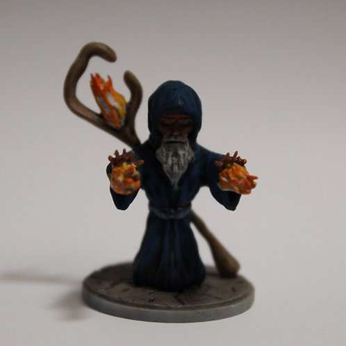 Wizard miniature, perfect for DnD and RPG, 28mm