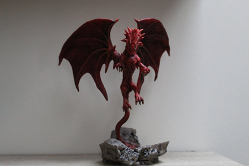 Mighty Dragon miniature, ideal for DnD and RPG, 28mm
