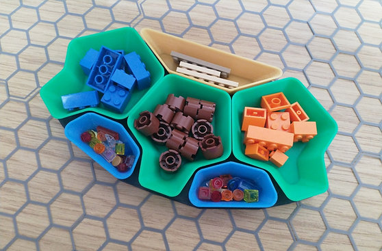 Stackable Board Game Token Trays