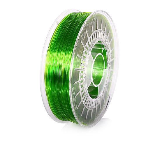 Light Green Transparent PETG 1.75mm, 0.8kg