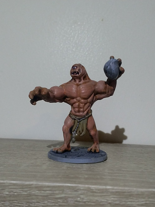Cyclops miniature, perfect for DnD and RPG, 28mm