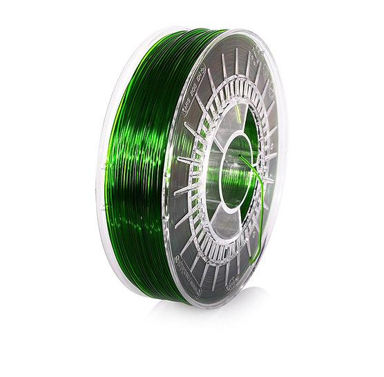 Pure Green Transparent PETG 1.75mm, 0.8kg