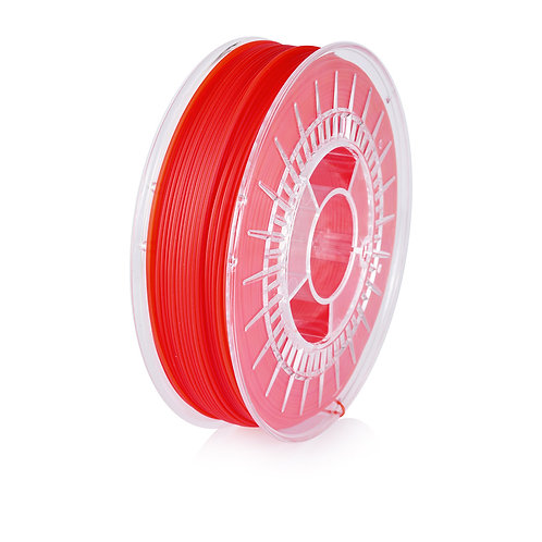 Red Transparent PLA Starter 1.75mm, 0.8kg