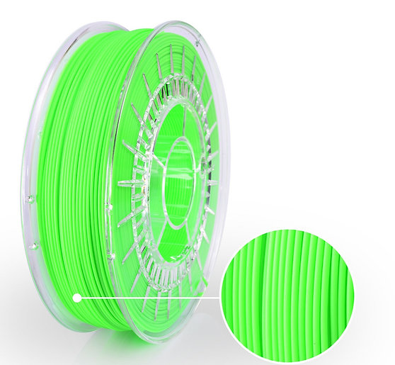 Neon Green PLA Starter, 1.75mm, 0.8kg