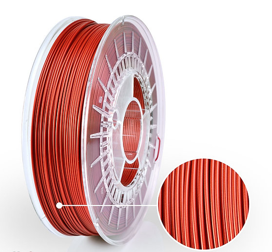 Red Jasper Satin PLA Starter, 1.75mm, 0.8kg
