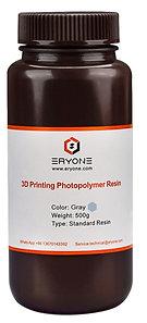 Standard Resin, Grey, Eryone, 500g
