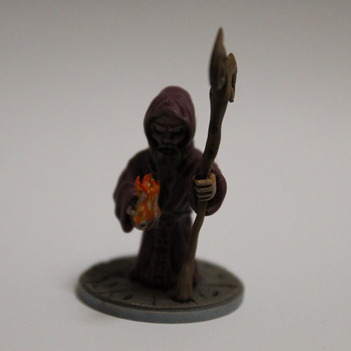 Wizard miniature, perfect for DnD and RPG, 28mm, Warlock, Druid