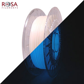 Blue PLA Starter Glow in the Dark, 1.75mm, 0.5kg