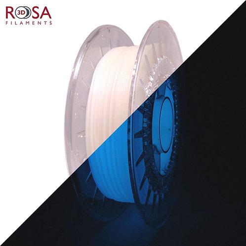 Blue PLA Starter Glow in the Dark, 1.75mm, 0.5kg