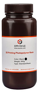 Standard Resin, Black, Eryone, 500g