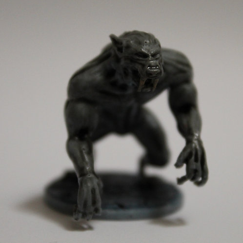 Lycan miniature, perfect for DnD and RPG, 28mm