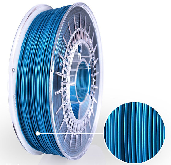 Capri Blue Satin PLA Starter, 1.75mm, 0.8kg